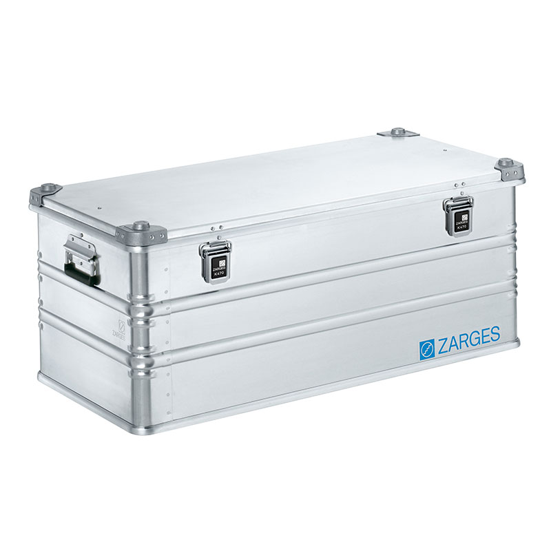 k470 aluminium case 162l