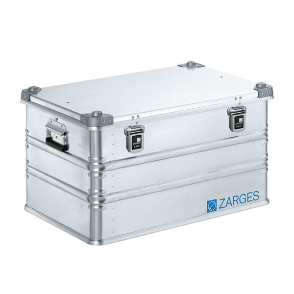 k470 aluminium case 121l