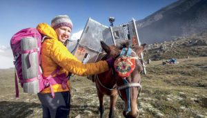 ZARGES sponsors the Everest 'Trail of Change' Expedition 1