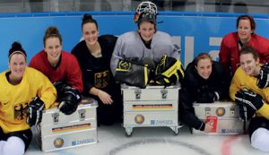 ZARGES sponsors the German National Ice Hockey Team