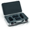 K411 attache case with camera in pick 'n' pluck foam